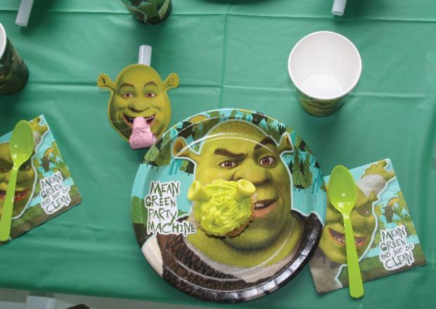 Puesto de la mesa Shrek
