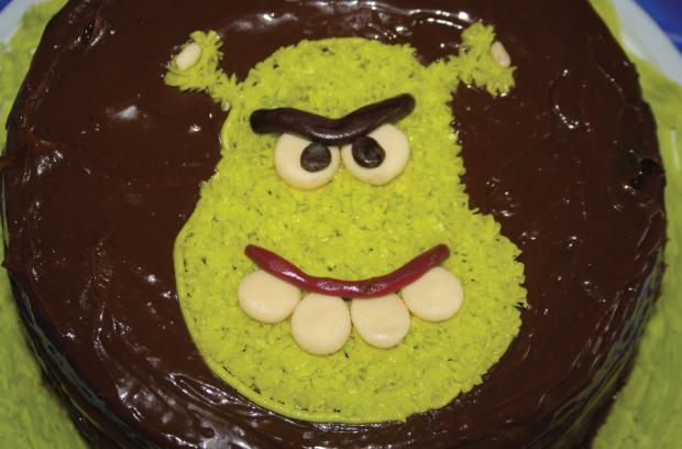 Torta Shrek