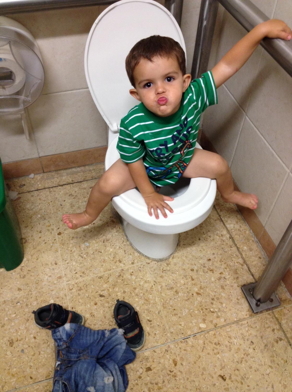 Baños Públicos Niños | lagallinaylospollitos
