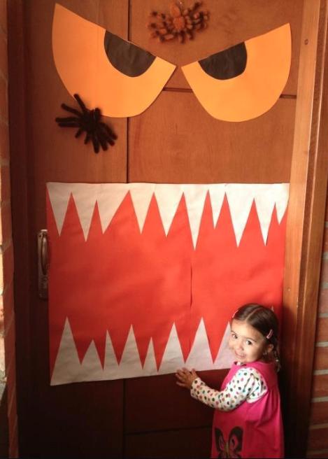 Decoraci n halloween actividades ni os la gallina y los - Como decorar halloween ...