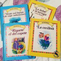 Los cuentos que leía chiquita ahora mis hijos los leen