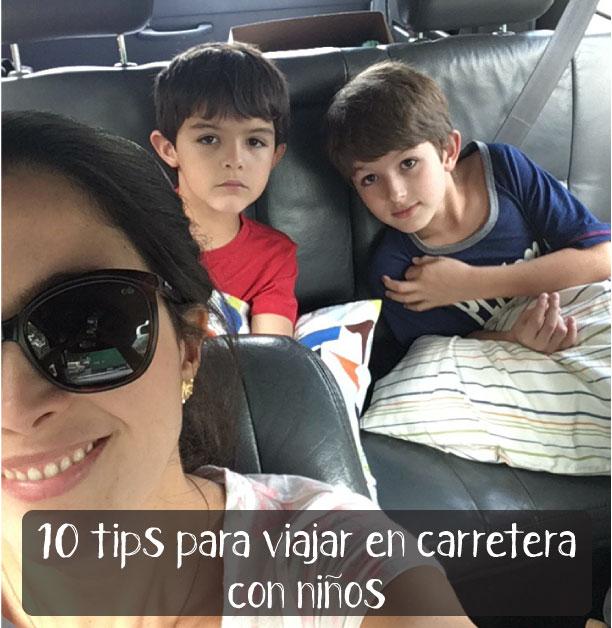 10 tips para viajar en carretera con niños - la gallina y los pollitos - blog de maternidad